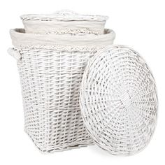 Crochet Laundry Hamper - Baskets & Hampers - Bathroom - United States of America