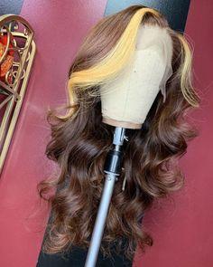 Baddie Hairstyles, Weave Hairstyles, Pretty Hairstyles, Ponytail Hairstyles, Wig Styles, Curly Hair Styles, Natural Hair Styles, Scene Hair, Lace Front Wigs