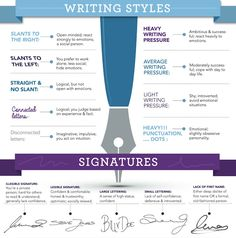 Infographic: The Psychology Of Handwriting - DesignTAXI.com