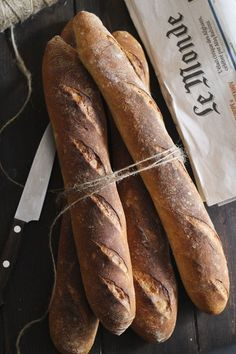 Como hacer baguettes en casa - Megasilvita Burger Bread, Burger Buns, No Knead Bread, Pan Bread, Pan Baguette Receta, Easy Bread Recipes, Healthy Recipes, Bread Rolls, Daily Bread