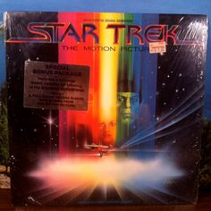Star Trek The Motion Picture Soundtrack OST Vinyl Record LP 1979 Columbia Starship Enterprise by theplunderdome on Etsy