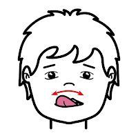 Autismus Arbeitsmaterial: VIDEO und Piktogramme. Mundbewegungen 1