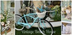 """First on our list is the very special and talented Robin of """"The Vintage Beach House"""" her love of decorating with vintage shines through every show! March 1-3 2013"""