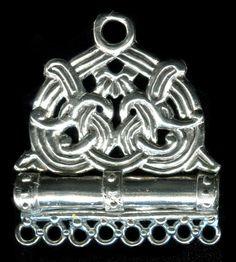 Viking Norse Borre Style Needle Case - 5305S