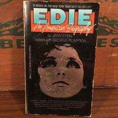 Edie Sedgwick An American Biography Vintage Paperback Book 1983 Dell Jean Stein George Plimpton Andy Warhol Factory by vintagebaron on Etsy