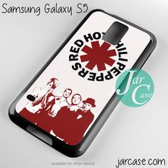 Red Hot Chili Peppers Band Phone case for samsung galaxy S3/S4/S5