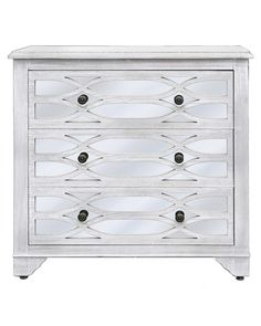 White Washed Ash 3 drawer cabinet – Allissias Attic & Vintage French Style