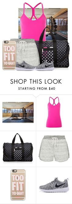 """""""At the gym"""" by agnes-wistedt ❤ liked on Polyvore featuring Lorna Jane, LeSportsac, Calvin Klein and Casetify"""