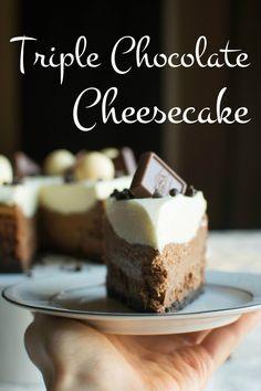 Triple Chocolate Cheesecake   A baJillian Recipes