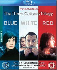 Trois Couleurs : bleu, blanc, rouge (The three colours trilogy), Krzysztof Kieslowski (1993-1994)