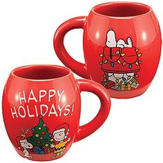 Would you use this Happy Holidays Peanuts Gang coffee mug only at Christmas or would you use it to celebrate Christmas Every Day?