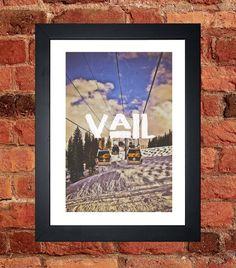 Vail, Colorado Print - Digital download.