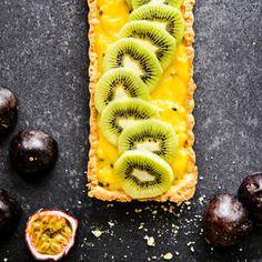 Kiivi-passiontorttu | K-Ruoka Easter Food, Easter Recipes, Plum, Pineapple, Fruit, Pine Apple