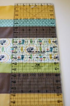 Basic Straight Line Quilt Tutorial