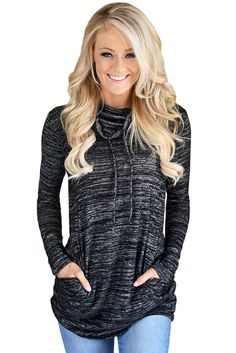 Try latest Chicloth Heather .... http://chicloth.com/products/chicloth-heather-black-cozy-cowl-neck-drawstring-sweatshirt?utm_campaign=social_autopilot&utm_source=pin&utm_medium=pin