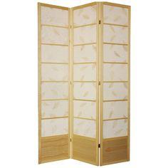 Have to have it. Oriental Furniture Botanic Shoji Screen Room Divider-84 Inch $238.00