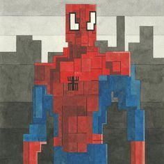 Spider Man – Adam Lister