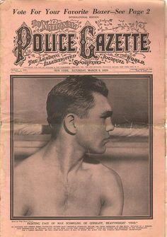 The National Police Gazette March 9 1929