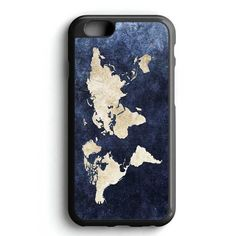 World Grunge Map iPhone 7 Case