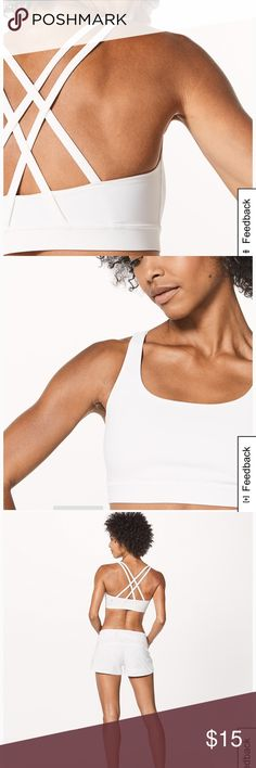 78894929f1dc0 Lulemon Energy Sports Bra Need a sports bra that does it all  Look no  further