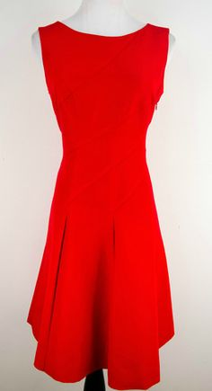 Anne Klein Crimson Red Dress Size 6 by Anne Klein | ClosetDash