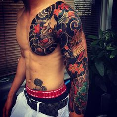 mens tattoos arm tattoos sleeve tattoos tatoos japanese sleeve tattoo ...
