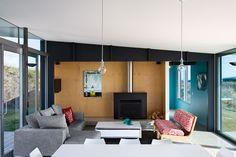 Living Room #Design :  Casa de Playa Pekapeka - Parsonson Architects