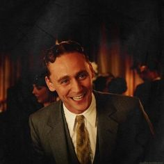 Tom Hiddleston as F. Scott Fitzgerald