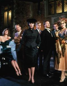 Clue.  Just love this movie & all the puns, etc.  Tim Curry is wonderful in it.