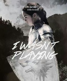Arya Stark Quote (A Song of Ice and Fire)