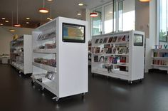 Oerestad Public Library (DK) BCI Design Touchscreen OPACs