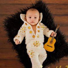 Baby Elvis Costume. by HavocMayhemCreations on Etsy