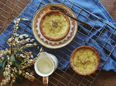 Lemon Curd Pies Recipe - Viva