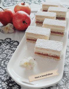 Almás krémes, ha a hagyományos almás pitét már unjátok, ezt próbáljátok ki! Vanilla Cake, Cheese, Food, Essen, Meals, Yemek, Eten