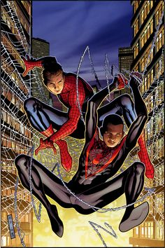 Spider-Men (cover artist Jim Cheung) - click-through for article