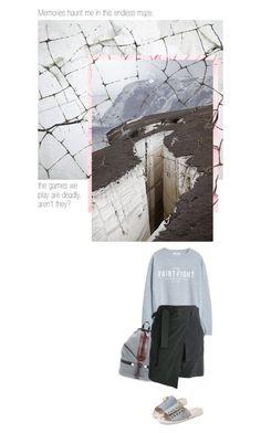 """BROKEN"" by melekceks ❤ liked on Polyvore featuring moda, MANGO, Rebecca Minkoff y A.F. Vandevorst"