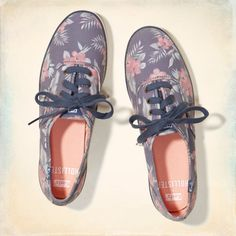 keds champion print girls
