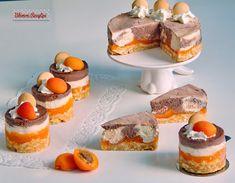 Sárgabarackos csokoládés sajttorták   Bibimoni Receptjei Eastern European Recipes, Chocolate Cheesecake, Peach, Food, Essen, Peaches, Meals, Yemek, Eten