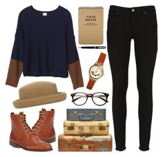 """Untitled"" by hanaglatison ❤ liked on Polyvore featuring Paige Denim, Monki, ASOS and Topshop"