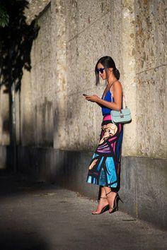Nicole Warne - Street Style Milan Fashion Week Spring 2014