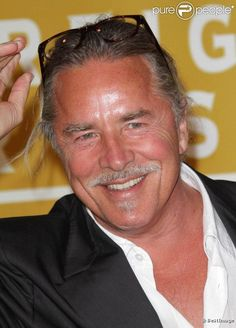 Don Johnson older but still Handsome