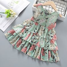 Girls Casual Dresses, Toddler Girl Dresses, Little Girl Dresses, Dresses For Toddlers, Toddler Girls, Baby Girl Dress Design, Girls Frock Design, Kids Dress Wear, Kids Gown
