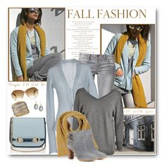 """""""Fall Blue, Grey & Yellow"""" by brendariley-1 ❤ liked on Polyvore featuring ONLY, Chiara Bertani, Étoile Isabel Marant, Oliver Spencer, Jimmy Choo, C. Wonder, Armenta and R.J. Graziano"""