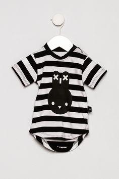 Huxbaby Stripe Bunny T Shirt - Main Image