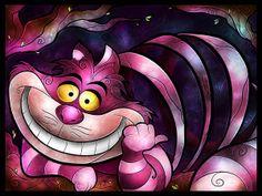 Looooooose something? - Cheshire Cat by Mandie Manzano