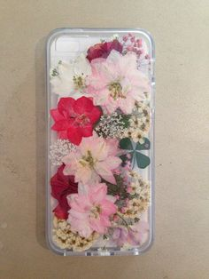 iphone 6 real pressed flowers case by danielarae on Etsy