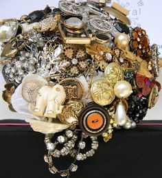 Brooch Bouquet tm off to a New Home to Treasure | Brooch Bouquets