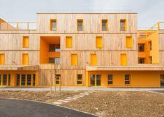 Morangis Retirement Home by Vous Êtes Ici Architectes: http://www.dezeen.com/2013/05/07/morangis-retirement-home-by-vous-etes-ici-architectes/