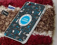 John green collage Case for iPhone 4/4S iPhone 5/5S by Jirolu, $14.50