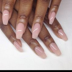 Pink + white nails Black Women – Care – Skin care , beauty ideas and skin care tips Natural Acrylic Nails, Cute Acrylic Nails, Glitter Acrylics, Gel Ombre Nails, Clear Gel Nails, Light Pink Acrylic Nails, Natural Fake Nails, Natural Looking Nails, Pink White Nails